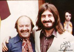 John Bonham 1972 (w/ photographer Hellemann)