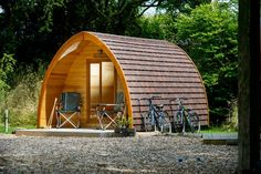 Eco-domes, covered wagons, Airstreams, pods and more are redefining the great outdoors.