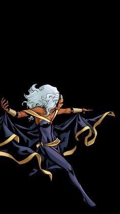 """clintfrancisbarton: """" uncanny x-men """" Storm Xmen, Storm Marvel, Marvel Xmen, Marvel Fan Art, Marvel Comics Art, Storm Wallpaper, Marvel Wallpaper, Marvel Cartoons, African Goddess"""