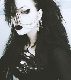 Old school goth style