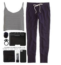 """""""Untitled #313"""" by luciamenesess ❤ liked on Polyvore featuring J.Crew, Morgan Collection and NARS Cosmetics"""