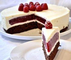 ... chute a vône mojej kuchyne...: Malinova torta -rozpravkova