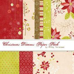 Christmas Dreams Paper Pack