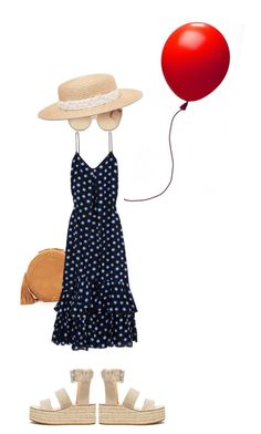 """""""Summer birthday"""" by sharmarie ❤ liked on Polyvore featuring Jérôme Dreyfuss, Boutique Moschino, Linda Farrow, rag & bone and Eugenia Kim"""