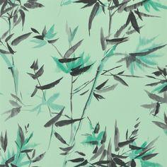 bamboo - jade wallpaper | Designers Guild