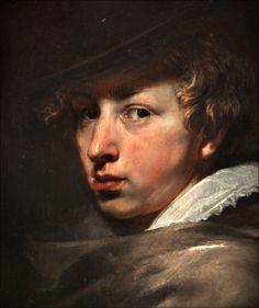 Peter Paul Rubens - portret van Antoon van Dyck -