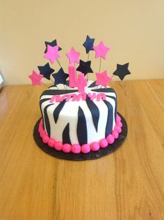 Star Cake From Saras Sweets Bakery Grand Rapids MI