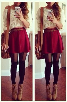 Cute outfit for the fall.