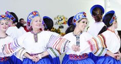 Show de dança folclórica Russa