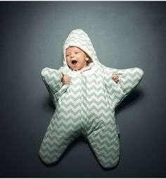 This adorable muffin will surely brighten your night! Baby star sleeping bag available soon at muffincheeks.com!