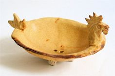 Rooster Soap Dish by sleeKsoap on Etsy, $15.00