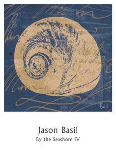By the Seashore IV Print by Jason Basil at Art.com