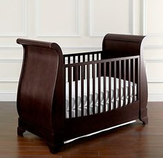 Marlowe Sleigh Crib | Cribs | Restoration Hardware Baby & Child