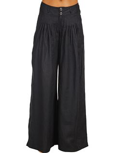 wide leg line pants. Alejandra Sky Serafina Linen Pants
