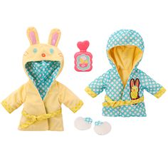 Baby Alive Bath Time Bunny Reversible Robe