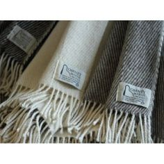 Exceptionally soft and durable, a medium sized throw available in 3 colour schemes and made from Romney Wool.  Made in the UK  http://www.madecloser.co.uk/home-garden/homeware-and-furniture/medium-throw