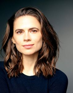 Hayley Atwell - New headshot by Faye Thomas with hair and make up by thank you 😊 Hayley Atwell, Hayley Elizabeth Atwell, British Actresses, Actors & Actresses, London Girls, Peggy Carter, How To Influence People, Marvel, Belleza Natural