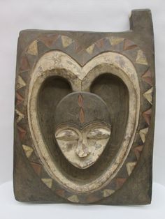 African Art  Tribal Art  Kwele Door  From Gabon by Sunstar2931