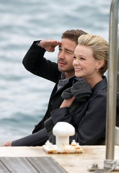 Definitely approve of this couple...Shia Labeouf and Carey Mulligan