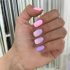 Pink Nail Designs, Beautiful Nail Designs, Nails Design, Christmas Nail Designs, Christmas Nails, Winter Nails, Summer Nails, Manicure And Pedicure, Gel Nails