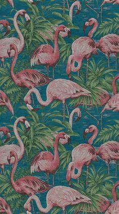 Le meilleur de Paris Deco Off, Papier peint Flamingo (Arte)