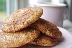 """Passion 4 baking  """"Snickerdoodles"""