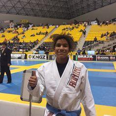 <WORLD CHAMPION> Vannessa Griffin @grifinn_ is Blue Belt Light weight Gold medalist. From the Juniors program to the World Championship... She is Baltimore and Crazy 88's 1st Female World Jiu-jitsu Champion. #ibjjf #JiuJitsu #BJJ #2015Worlds