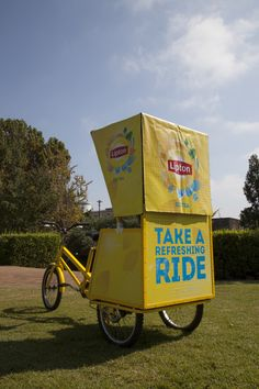 Taste the Brightside The Brightside, Lipton Ice Tea, Velo Cargo, Experiential Marketing, Tea Brands, Brand Ambassador, Event Management, Easter 2015, Graphic Design Inspiration