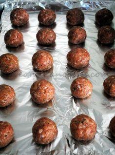 35ca22905f79 Love and Pancakes  Italian Sausage Meatballs Italian Sausage Meatballs