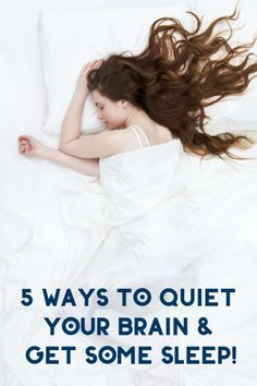 Can't fall asleep? Me either! Check out 5 things I do to quiet my brain so I can drift off! #BeyondTired #ad #IC