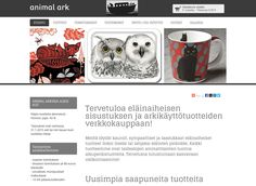 Animal Ark on eläinaiheisen sisustuksen ja arkikäyttötuotteiden verkkokauppa. Opi