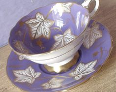 Popular items for purple teacup on Etsy