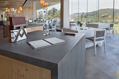 With its attractive matte finish, NEOLITH Basalt Grey is ideal for optical shop design, coffee shop design, kitchen countertops, luxury bathrooms, interior cladding, exterior cladding, and floor cladding.  NEOLITH sintered compact surfaces can be used to create a holistic look in any interior or exterior space. For a look at NEOLITH's comprehensive range of colour options as well as new colour editions, visit www.neolith.co.za