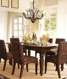 1000 Images About My Future Seagrass Dining Set On