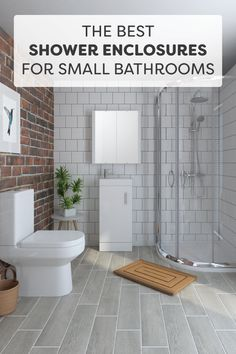 Planning a small bathroom remodel? A shower enclosure is one of the best ideas for a small living space. These super-compact, super-stylish small bathroom ideas are an essential piece of home decor if you're looking to maximise the layout in your new room. We look at your best options.