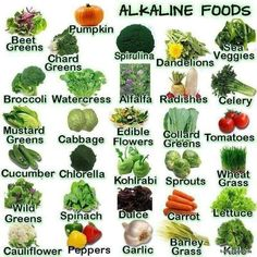 Health: Alkaline Diet and Cancer. Cancer cells cannot live in an alkaline environment. List of alkaline foods. Get Healthy, Healthy Tips, Healthy Foods, Healthy Choices, Healthy Bodies, Healthy Water, Healthy Detox, Eating Healthy, Health And Nutrition
