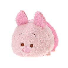 Winnie the Pooh characters are more cute than ever with this mini Piglet Tsum Tsum plush. You can start your collection today with this adorable timid Piglet. Disney Plush, Disney Tsum Tsum, Plush Dolls, Doll Toys, Sock Dolls, Mini Disney, Winnie The Pooh, Mini Piglets, Soft Toys Making