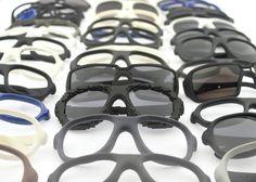 3D geprinte monturen van Protos Eyewear