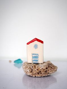 Hey, I found this really awesome Etsy listing at https://www.etsy.com/listing/285678139/little-clay-houses-summer-ceramic-beach