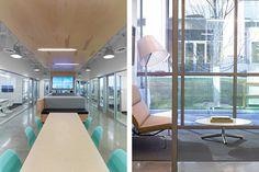 Alterra (Left) Collaboration Space (Right) Private Office.