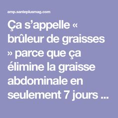 Tips for Anti Diet Solution - Ça s'appelle « brûleur de graisses Anti Cellulite, Keep Fit, Healthy Smoothies, Immune System, Body Care, Pilates, Meal Planning, Improve Yourself, Health Fitness