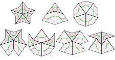 Penrose tiling - kites and darts