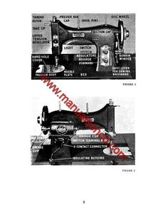 Domestic 153 Sewing Machine Manual.   Here are just a few examples of what's included in this manual:  * Threading the machine. * Winding and threading the bobbin. * Upper and lower tension adjustment. * Adjusting stitch lengths. * Removing and replacing shuttle. * Oiling your machine and Much more.  56 page instruction manual.
