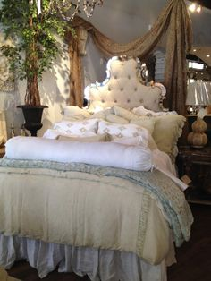 Bella Notte bedding is one of our favorites. Its beautiful, comfortable and livable.