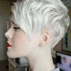 pixie hairstyles silver