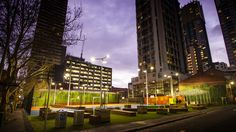 RMIT A'Beckett Urban Square | Peter Elliott Architecture + Urban Design / Urban Design Award / Photo by Ash Keating