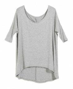 High Low Batwing T-Shirt