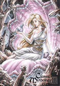 Aphrodite - Anthony Tan by Pernastudios on DeviantArt Greek Gods And Goddesses, Greek Mythology, Thalia, Aphrodite, Indie, Deviantart, Artist, Painting, Fictional Characters