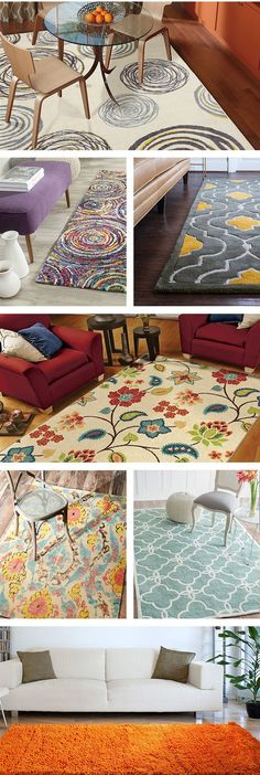 Choose from a variety of different area rug colors, styles and patterns sure to blend in nicely with your home décor/ Wayfair. My Living Room, Home And Living, Home Renovation, Hm Deco, Casa Art Deco, Home Interior, Interior Design, Diy Home Decor, Room Decor