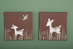 Kids Line Willow Organic Canvas Wall Art
